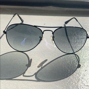 DIFF eyewear all black aviators!